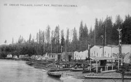 """Indian village, Alert Bay, British Columbia"""