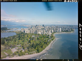 Aerial Of Vancouver, Stanley Park
