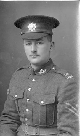 Corporal F. J. Allen, Royal Canadian Regiment
