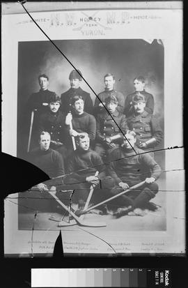 N.W.M.P. White Horse hockey team, Yukon