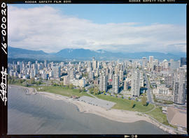 Aerial Of Vancouver West End