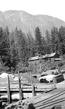 Bunkhouse At Port Mellon Pulp Mill