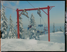 Chair Lift Grouse Mountain N. Vancouver