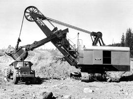Kimberley; Cominco, Power Shovel At Sullivan Mine.