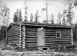 """Dom. Gov. Tel. Office West Branch - Nahlin River; Atlin-Quesnelle tel. line."""