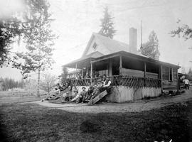 Residence of J.J. Campbell near Nelson.