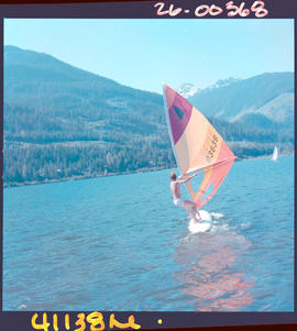 Wind Surfing, Alta Lake
