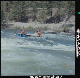 Canoeing In Similkameen River