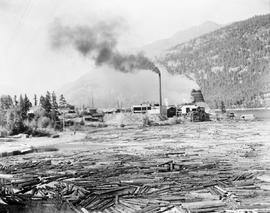 Operations of the Holding Lumber Company; Adams Lake.