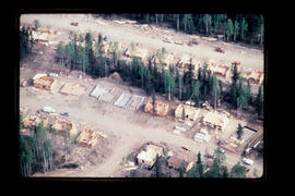 Tumbler Ridge House Basement Construction