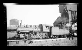 0-6-0, No. 6255, Switcher; Drake Street yard, Vancouver.