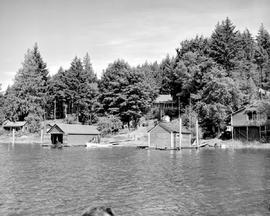 Cox Home On Shawnigan Lake.