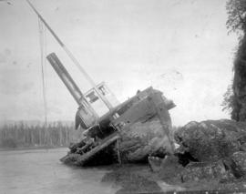The wreck of the SS Beaver at Prospect Point, Vancouver.