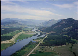Aerial Of Shuswap Valley