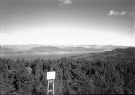 View from Pocohontas forest lookout, E shot 3