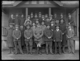 Camp Commandant with Chinese Labour Corps