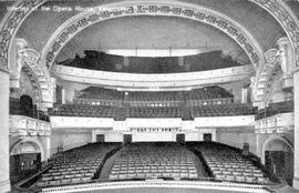 """Interior of the Opera House, Vancouver, BC."""
