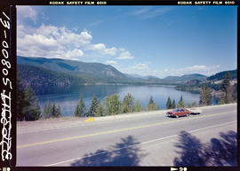 Moyie Lake And Highway 3