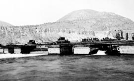 """Control gates for the Okanagan Lake at Penticton, Okanagan Valley""."