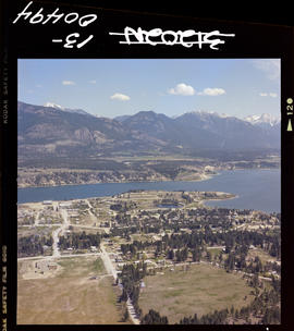 Aerial Of Invermere