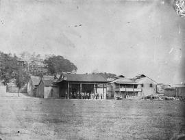 [Canton, China]  13)  Capt. Budd's Quarters and where his company are stationed, this place ...