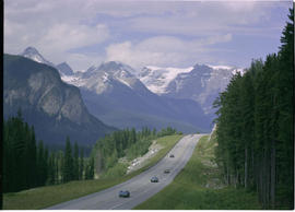 Trans Canada Highway Yoho National Park