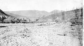 Barkerville, before the fire of 1868