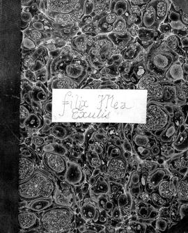Filix Mea Exulis [Album With Marbled Cover - Drawings From Early Days In BC And Before]