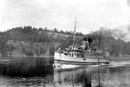 SS Princess Victoria In Plumper Pass
