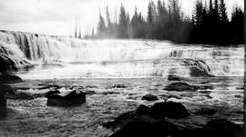 """Dawson Falls on the Murtle River at Lot 3208""."