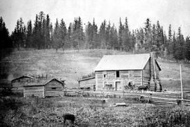 The 108 Mile House (owned by Thomas Roper at one time - J. Ranch brother of W. Roper, of Cherry Creek, now living in Victoria, Oak Bay