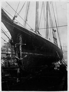 """Compliments of the Vancouver Ship Yard Ltd., 'Casco', Robert Louis Stevenson&#039..."