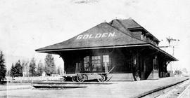 Golden. Canadian Pacific Railway Station