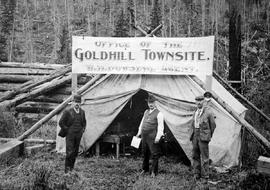 Gold Hill Townsite Office.