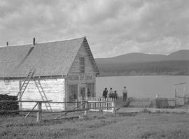 The Hudsons Bay Company trading post at Fort Babine.