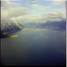 Aerial N. End Of Kootenay Lake