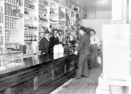 Interior Of Blair's Store.