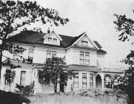 The Jackson residence on the west side of Cook Street near Hillside Avenue, Victoria; C.C. Pember...