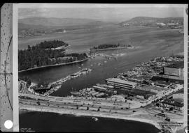Aerial Of Coal Harbour, Vancouver