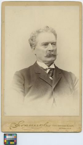 The Honourable John Robson, Premier from 1889 to 1892