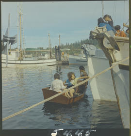Women in Masset Harbour, Queen Charlotte Islands