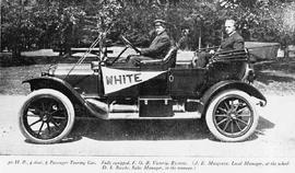 """Four door, five passenger touring car, fully equipped F.O.B. Victoria, $3,600; J.E. Musgrav..."
