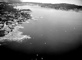 Aerial Of Cadboro Bay And Ten Mile Point