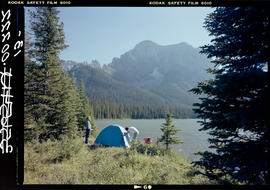 Camping At Lower Elk Lake, Elk Lakes Park