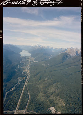 Aerial Of Fraser River And Moose Lake