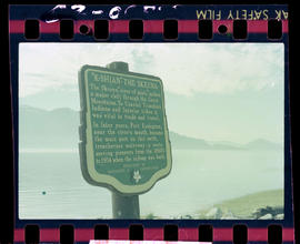 """K-Shian"" The Skeena Stop of Interest sign"