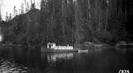 Forest Service; launch, Hemlock; at Bughouse Bay.