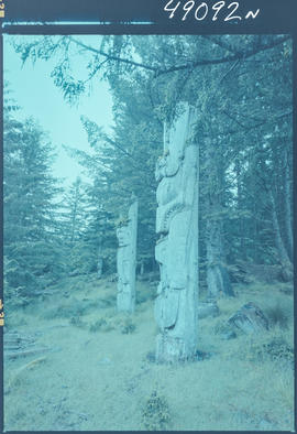 Totem Poles, Anthony Island Queen Charlotte Island