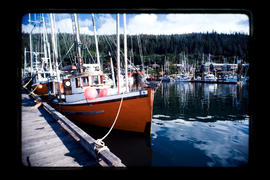Fish Boats, Queen Charlotte City  Queen Charlotte Islands