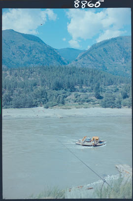 River Ferry At Lytton